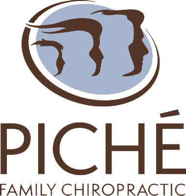 piche family chiro vertical logo